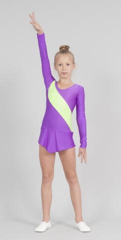 Трико гимнастическое Т1815, Одежда для выступлений, Одежда для гимнастики