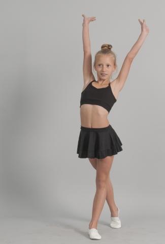 Юбка девичья Ю962, Одежда для выступлений, Одежда для спорта