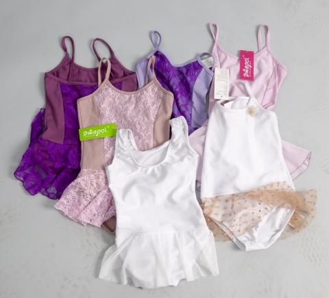 Трико гимнастическое Т1615 «Сакура» в разных расцветках, Одежда для гимнастики