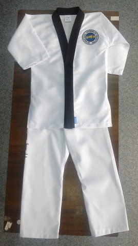Добок, кимоно К1586 липучка на груди, Одежда для спорта, Специальная одежда