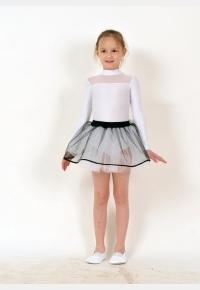 Трико гимнастическое Т117. Юбка девичья Ю1433, Одежда для выступлений, Одежда для гимнастики, Одежда для танцев