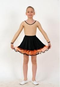 Спідниця дівоча Ю1626, Одяг для виступів, Одяг для танців