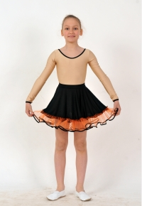 Skirt for girls YU1626, Clothing for performances, Dancewear