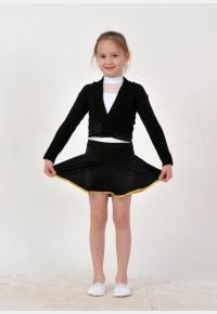 Ballet knitted wrap top B1543  Skirt for girls YU1629 ,Gymnastics clothing,Dancewear