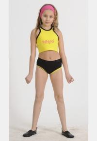 Комплект девичий спортивный К1242. Повязка для волос П1083, Одежда для активного отдыха, Галантерея
