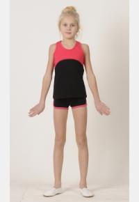 Майка спортивная М1457. Шорты Ш569, Одежда для активного отдыха