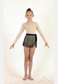 Трико гимнастическое Т1358. Юбка девичья Ю1434, Одежда для гимнастики, Одежда для танцев
