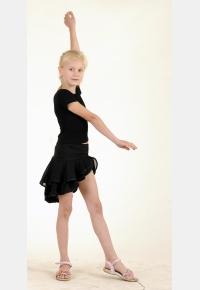 Юбка танцевальная Ю1435, Одежда для выступлений, Одежда для танцев