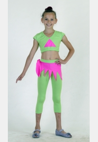Комплект дівочий К1419, Одяг для танців