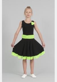 Платье таневальное П1814, Одежда для выступлений, Одежда для танцев