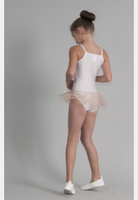 Gymnastic leotard Т1852, short net skirt, Clothes for performances,Gymnastics clothing