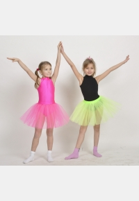 Трико гімнастичне Т1054. Спідниця дівоча Ю646А, Одяг для виступів, Одяг для гімнастики, Одяг для танців