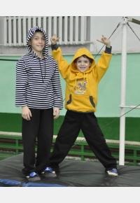 Джемпер Д928 (слева). Джемпер Д929. Брюки Б344, Одежда для спорта, Одежда для школы