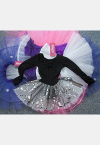 Gymnastic leotard with skirt Т1687,Clothing for performances, Gymnastics clothing,Dancewear