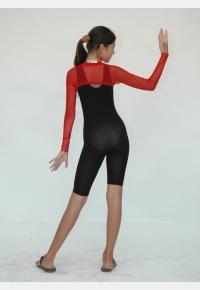Полукомбинезон гимнастический П680, Одежда для гимнастики, Одежда для танцев, Одежда для спорта