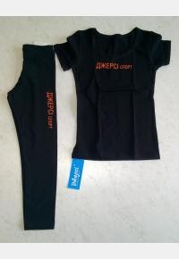 T-Shirt F531 «Jersey sport»+Leggings L1203,Sportswear
